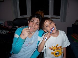 Andrew and Jenna, I'm Gonna Brush My Teeth 001