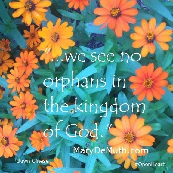 we see no orphans