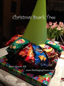 Build a Christmas Snack Tree