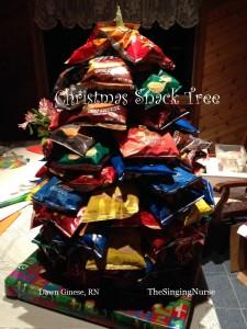 Christmas Snack Tree w word