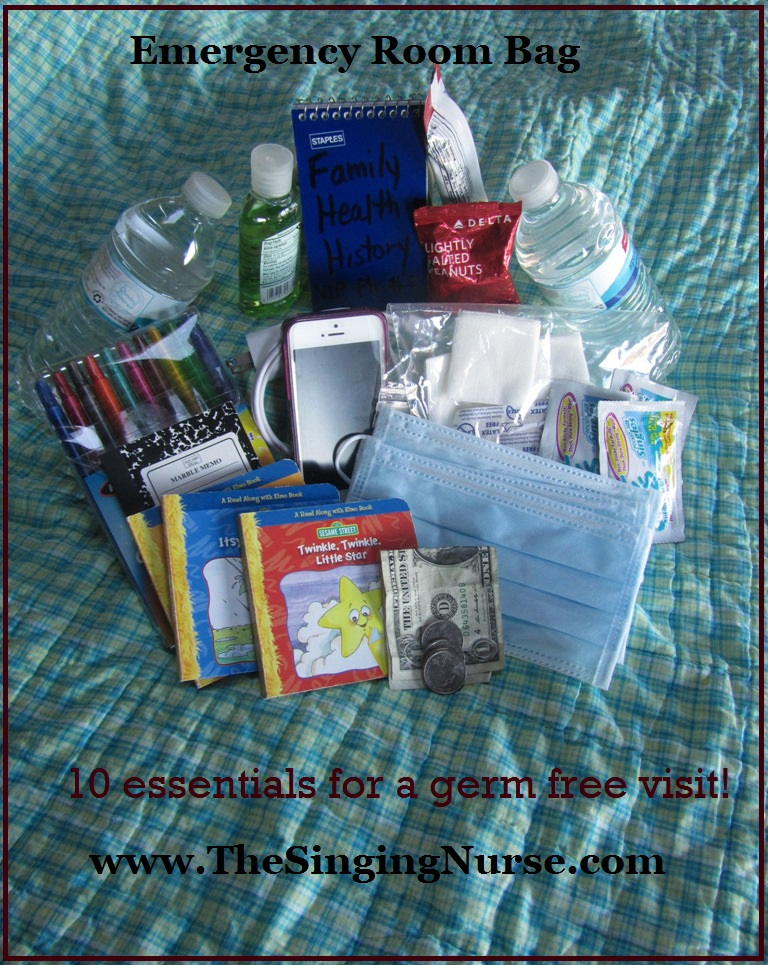 Emergency Bag contents