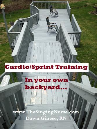 Cardio Sprint Training, Dawn Ginese