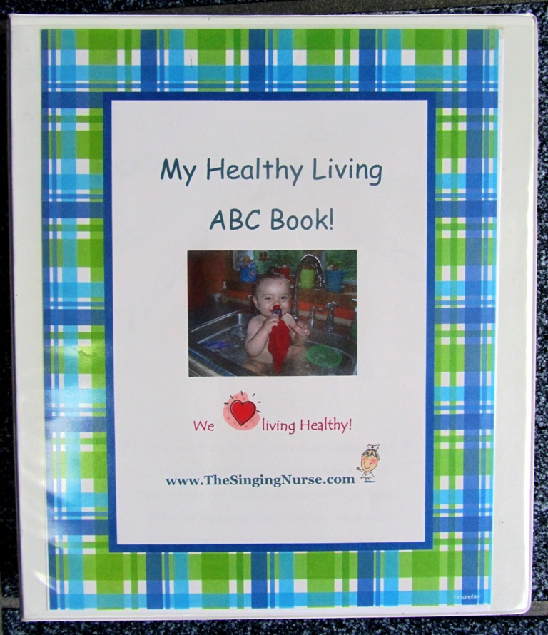ABC Healthy Living Book Cover