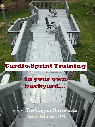 Cardio Sprint Training, Dawn Ginese